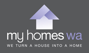 My Homes WA Logo (We Turn a House Into a Home)