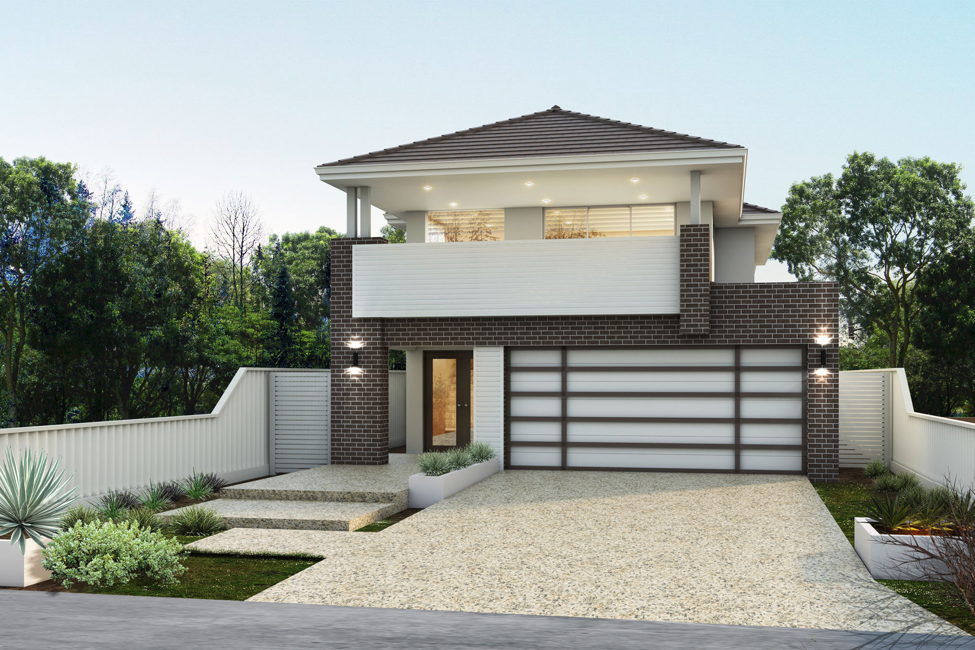 """My San Remo"" home design (double storey home)"