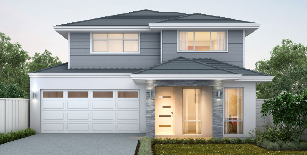 "Double Storey Home Design in Perth - ""My Sicily"""