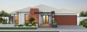 """House frontage of single storey home design """"My Manhattan"""""""