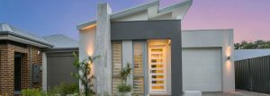 """Home frontage of single storey home """"My Seattle"""", designed and built in Perth by My Homes WA"""