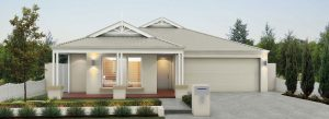 "Frontage of single storey ""My Venice"" home designed and built in Perth by My Homes WA"